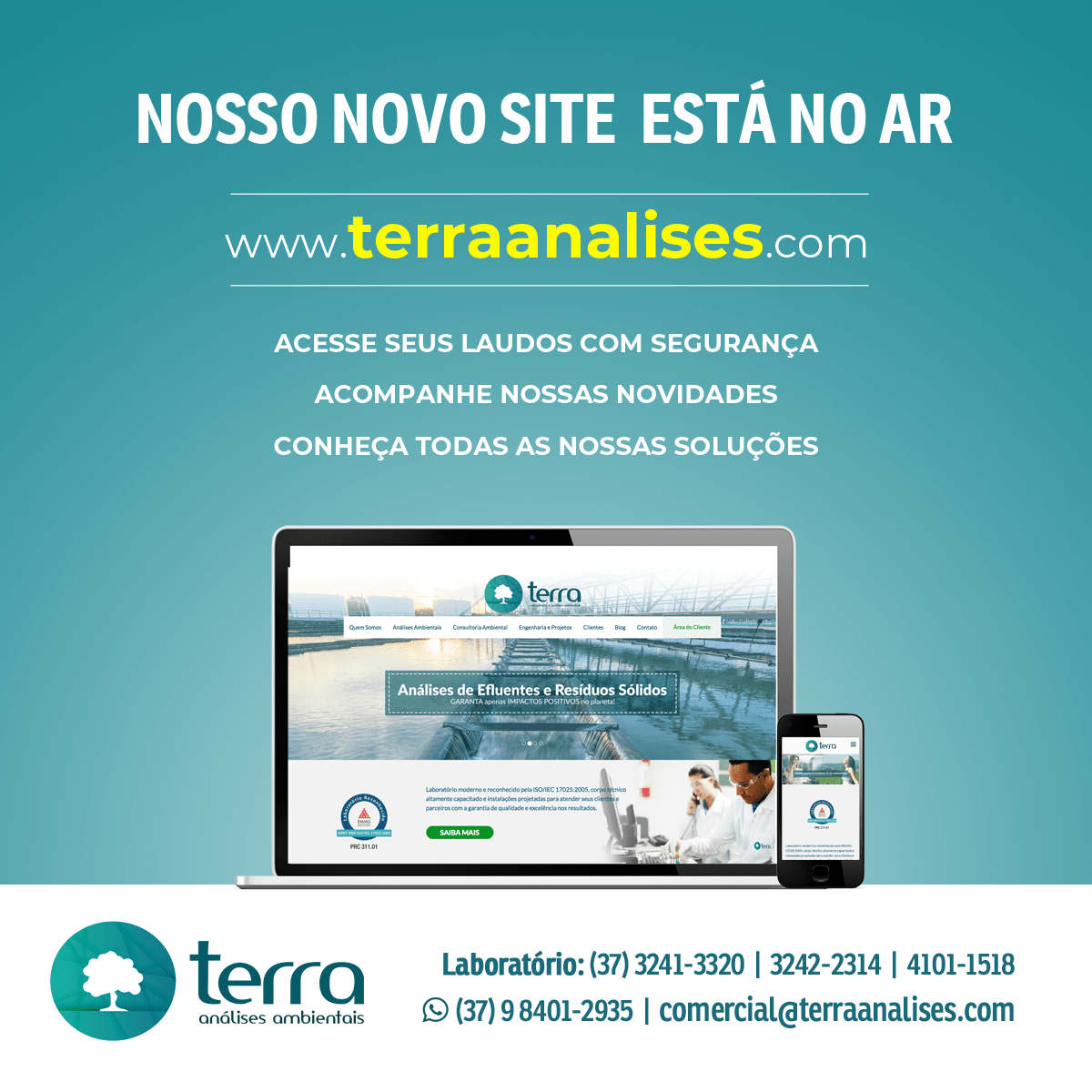 Bem-vindo (a) ao nosso novo site!
