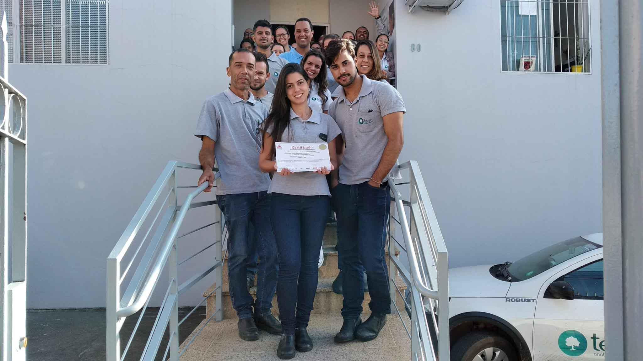 RMMG renova o reconhecimento de competência da Terra