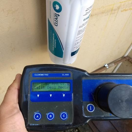 Clorador de água para consumo humano