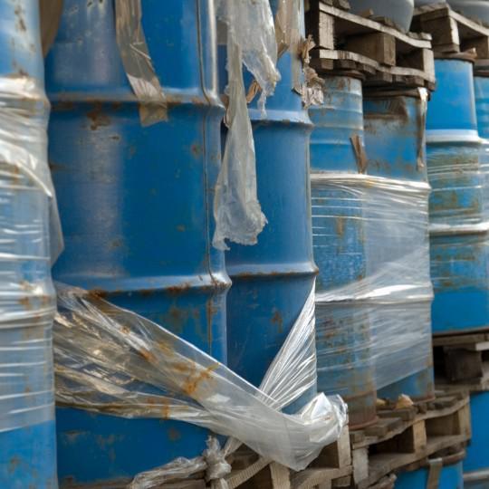 Laboratório classificação de resíduos sólidos