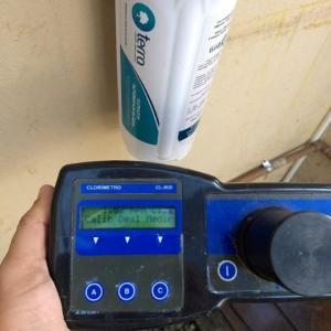 Clorador automático de água para consumo humano