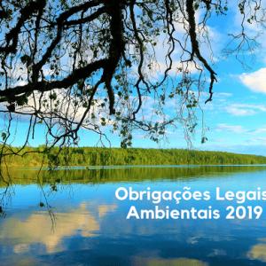 Obrigações legais ambientais 2019